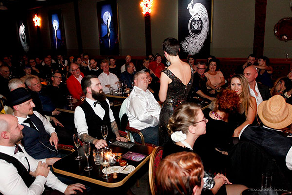 Welcome to Blue Moon Cabaret - The Decadent Burlesque Soiree