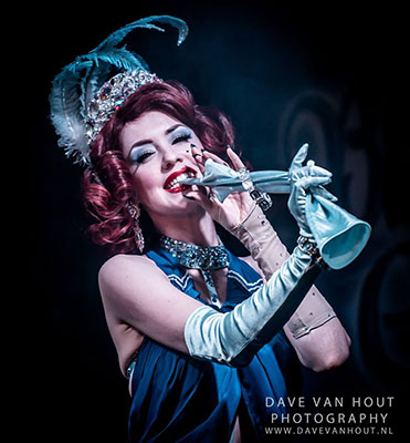 The 4th edition of the Blue Moon Cabaret at the Blue Collar Theater in eindhoven, The Netherlands