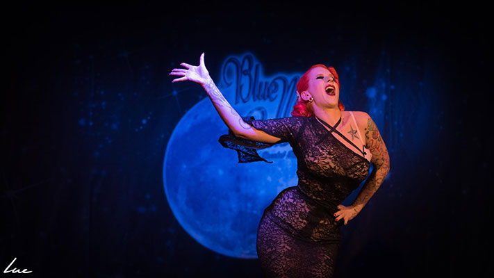 The 5th edition of the Blue Moon Cabaret at the Blue Collar Theater in Eindhoven, The Netherlands