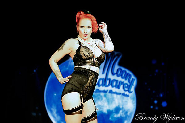 The 6th edition of the Blue Moon Cabaret - the decadent burlesque soiree with Tronicat