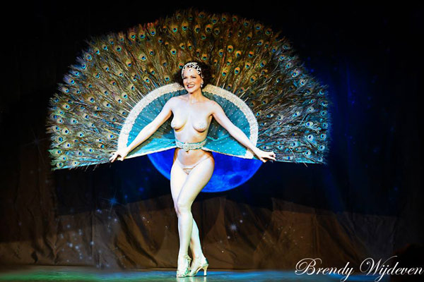 The 6th edition of the Blue Moon Cabaret - the decadent burlesque soiree