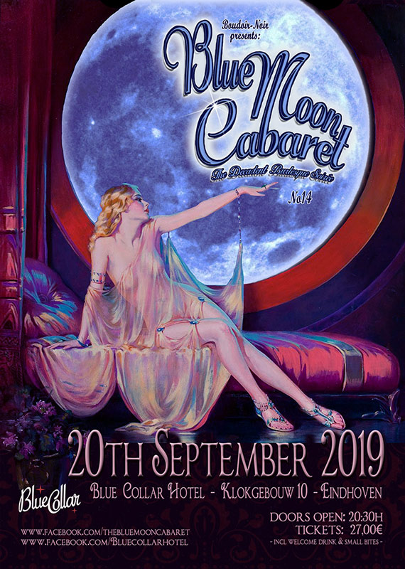oudoir Noir presents: The Blue Moon Cabaret - The Decadent Burlesque Soirée No 14